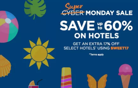 travelocity cyber monday discount deal