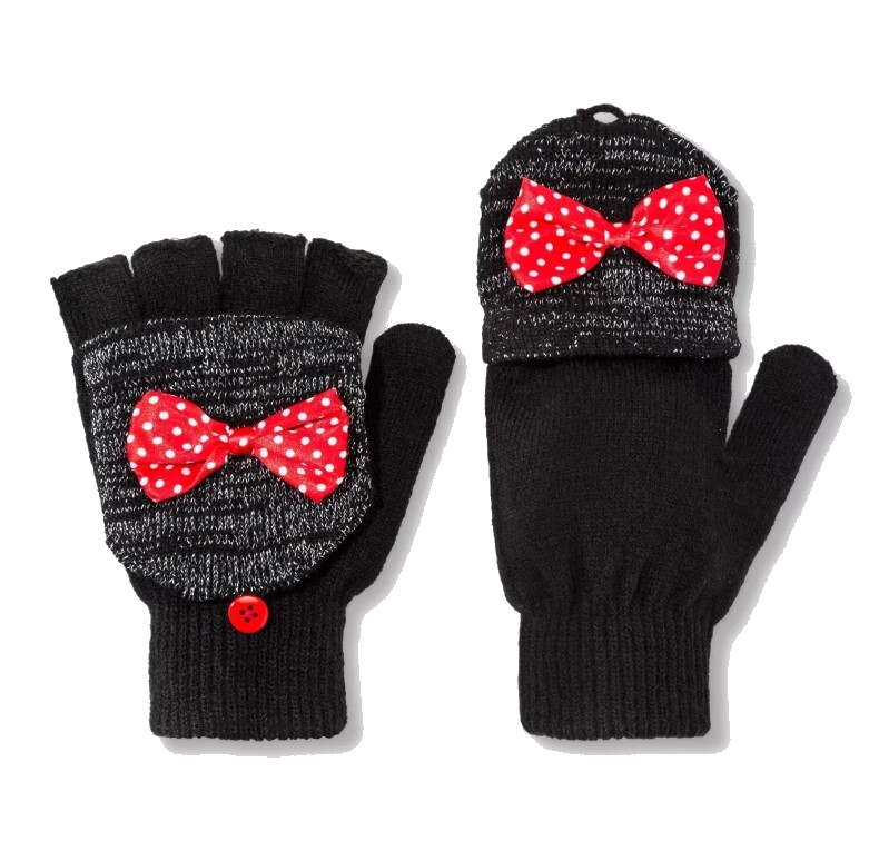 minnie mouse convertible gloves