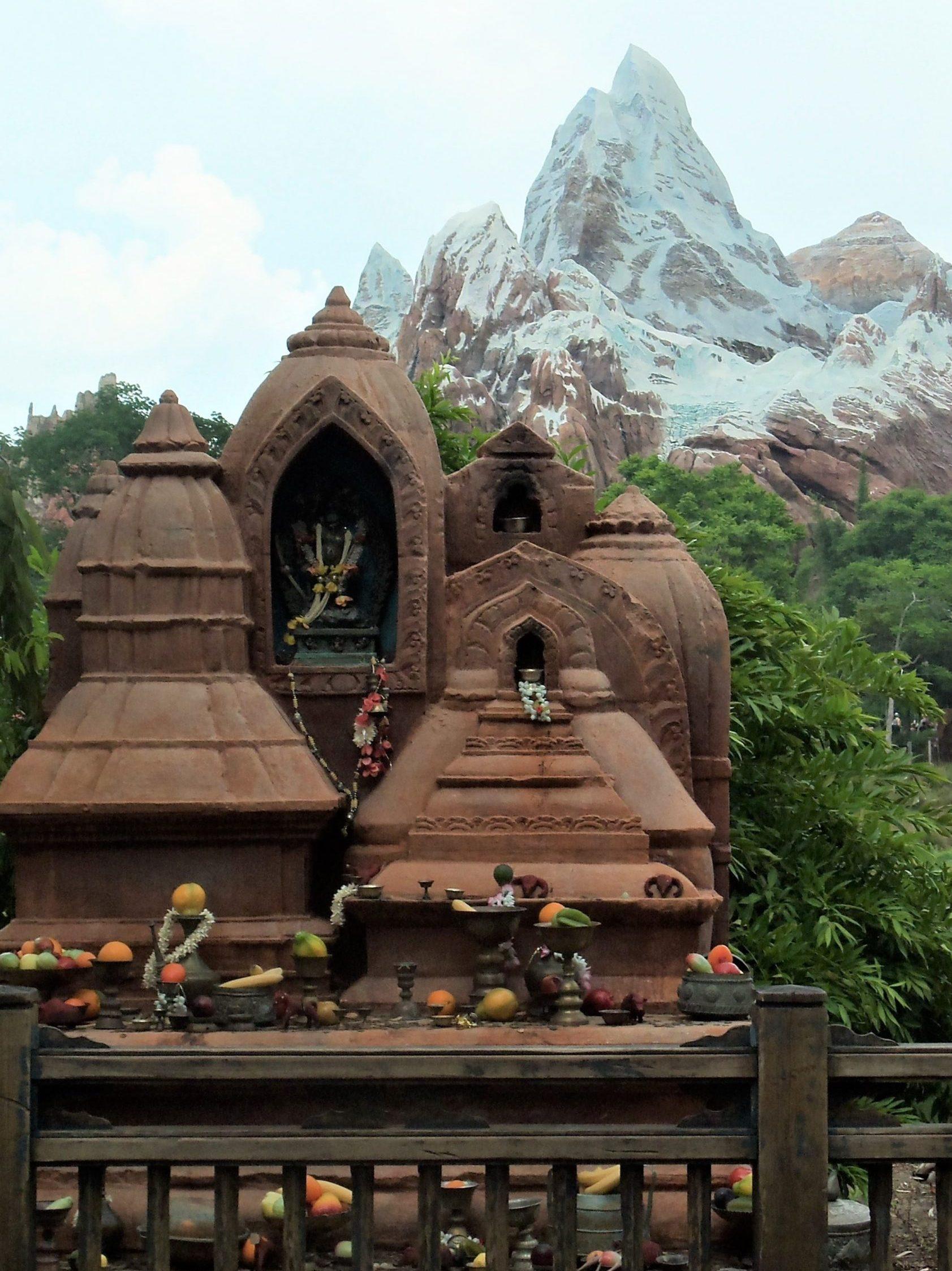 Everest mountain at magic kingdom