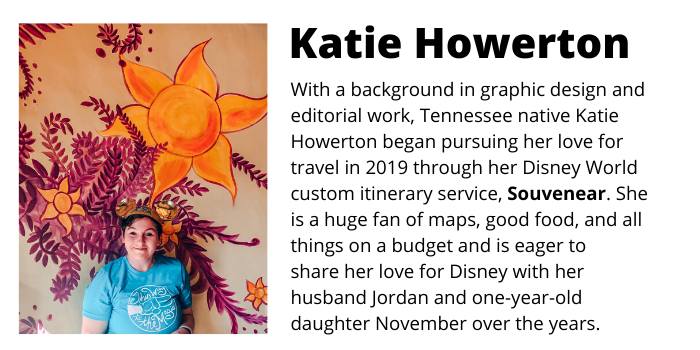bio pic and description of author katie howerton