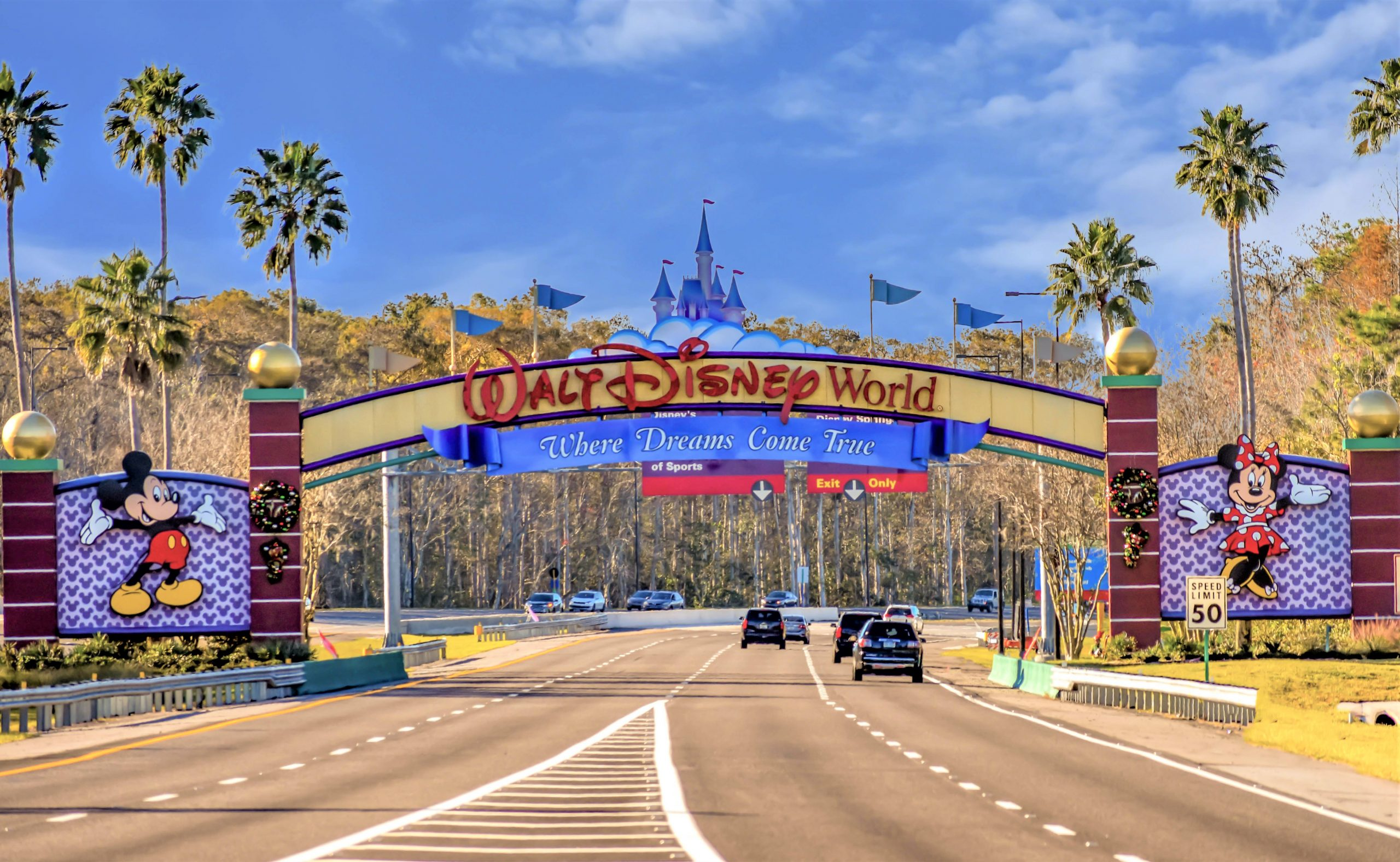 driving into disney world - current disney world discounts