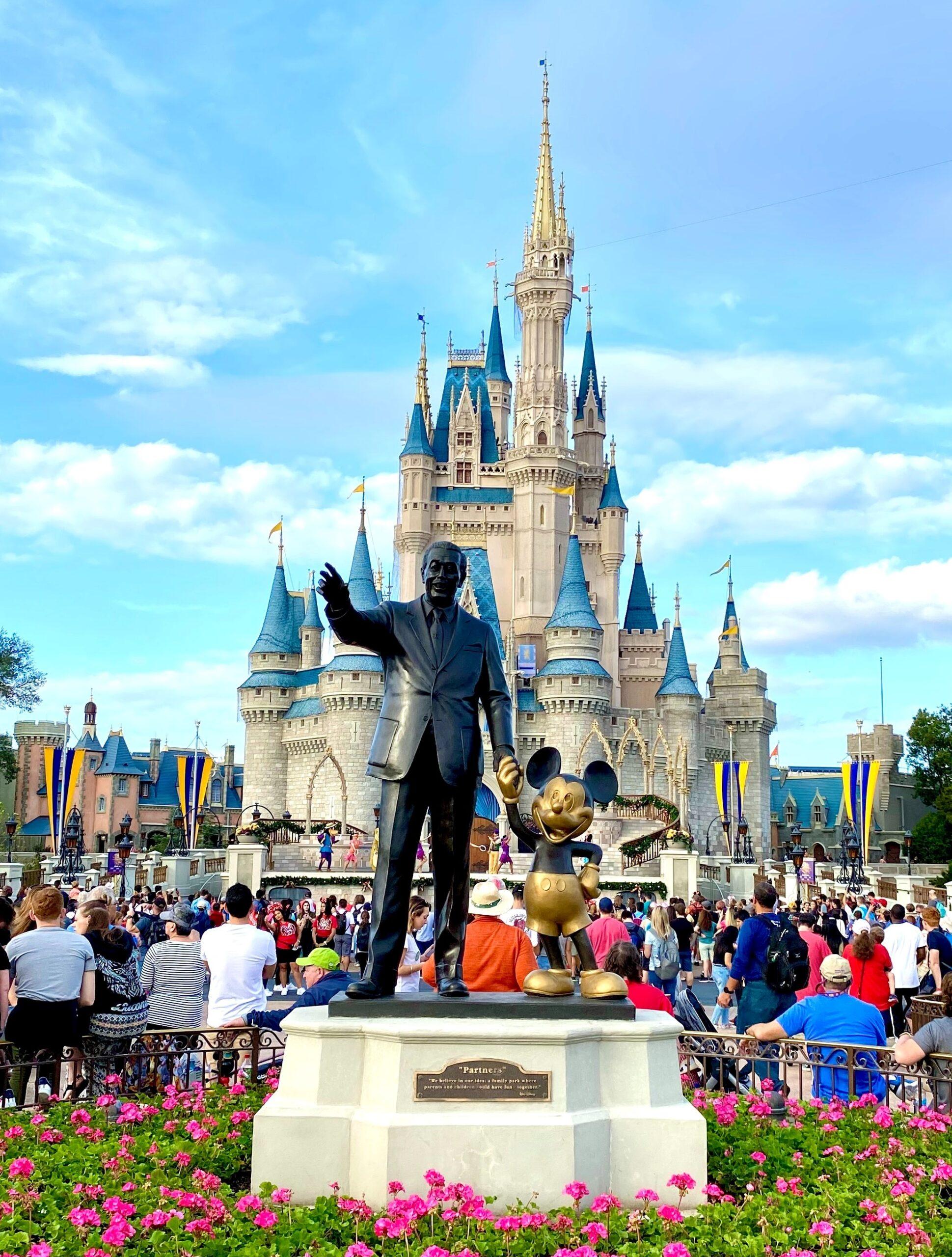 partners statue magic kingdom - how to become a disney travel agent